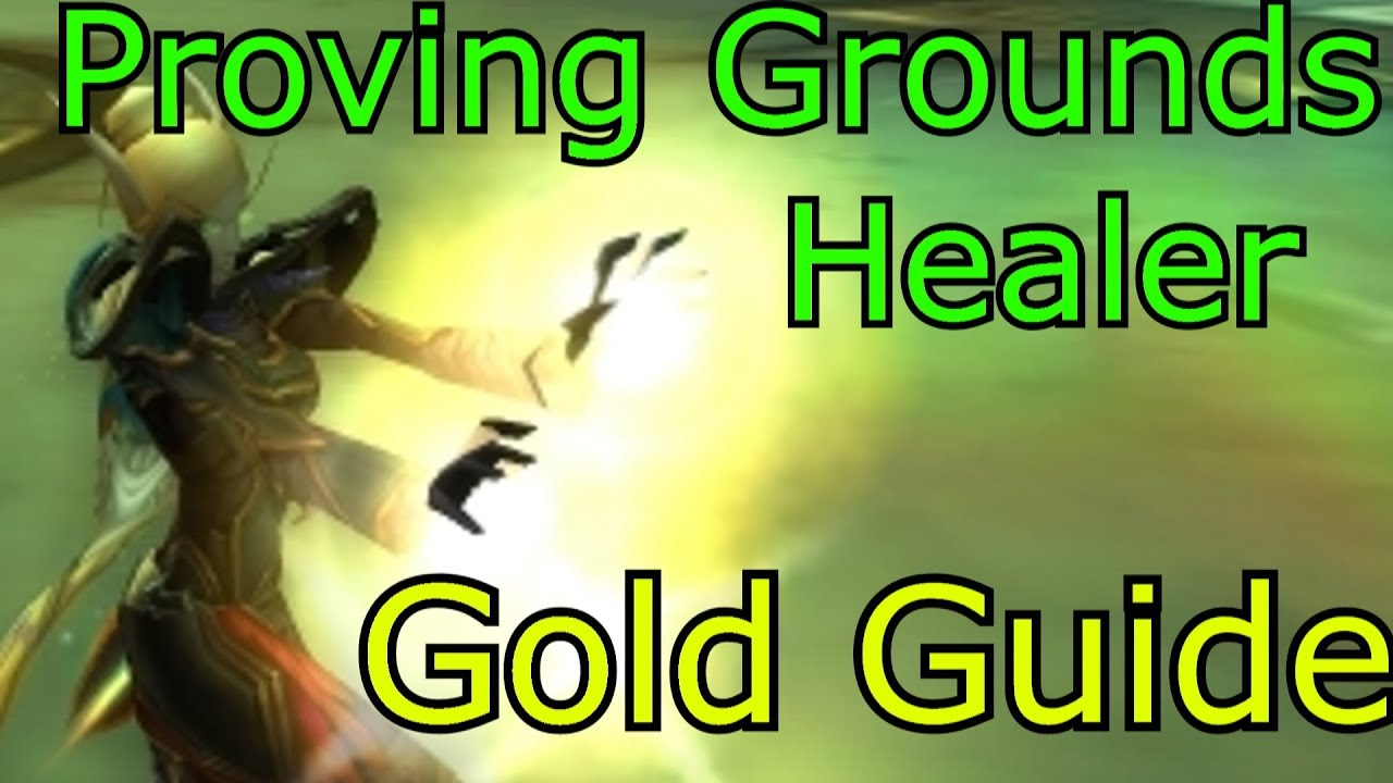 Gold healer proving grounds disc priest