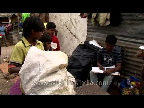 Rag picker's wage : Delhi