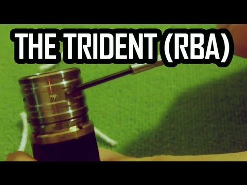 IT'S TRIDENT TIME ( REBUILDABLE ATOMIZER )