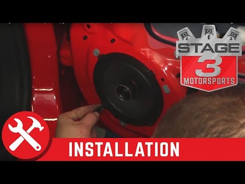 2015-2016 Mustang Kicker KS654 6.5 Speaker Upgrade Kit Install (Base Audio)