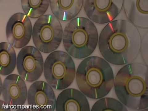Un espejo de pared con cd desechados youtube for Conforama espejos de pared