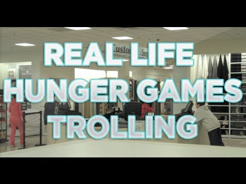 Real Life Hunger Games Trolling #1