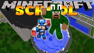 Minecraft School - SUCKED INTO A TOILET!