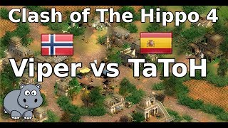 AoE2 COTH4 | Finals | Viper vs TaToH