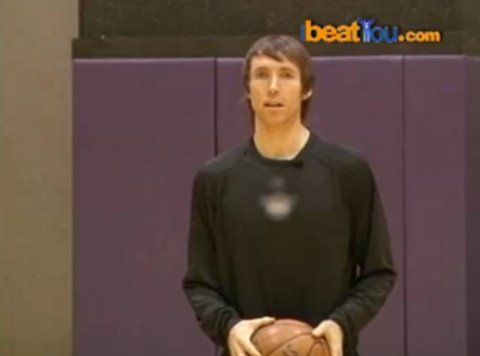 Steve Nash 3 point competition on ibeatyou Video