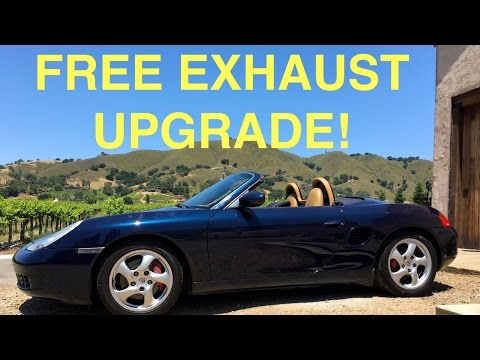 Free Exhaust Upgrade - Boxster 986