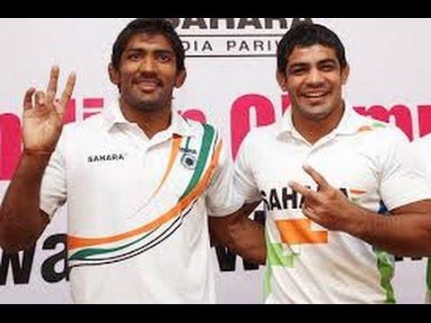All eyes are on Indian wrestlers Sushil Kumar & Yogeshwar Dutt in Common Wealth Games GLASGOW