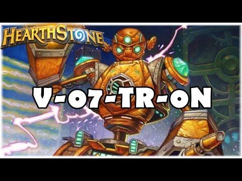 HEARTHSTONE - V-07-TR-0N! (LIVRE MECH ROGUE)
