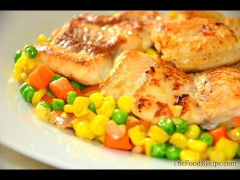 Sutchi fillet fish with vegetables recipe youtube for What vegetables go with fish