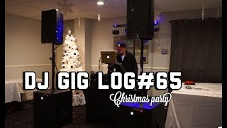 "DJ GIG LOG#65 CHRISTMAS PARTY ""BRUCE'S PRIME RIB NORWALK"" COLLAB"
