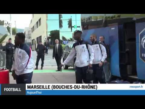 Football / Les Bleus sont à Marseille - 17/11