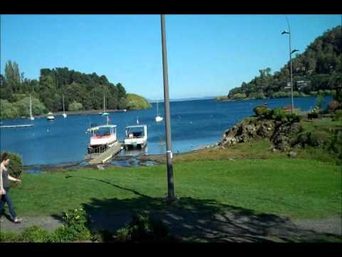 Walking tour of Pucon, Chile