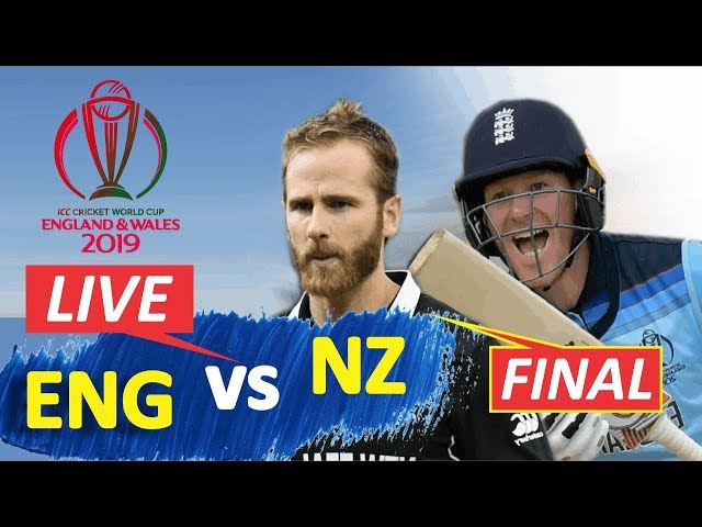 р LIVE  New Zealand vs England  Live Score amp Commentary  ICC World Cup 2019 Finel