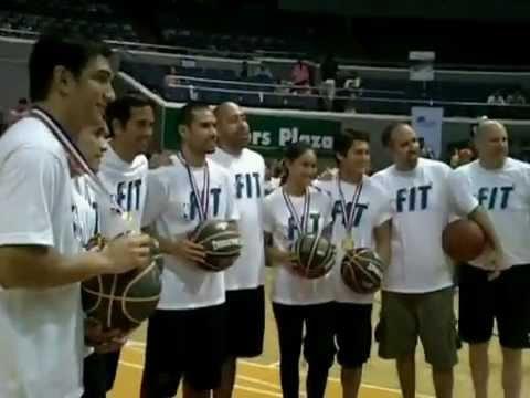 Mike Swift co-Hosts NBA FIT celebrity challenge in ARANETA COLISEUM