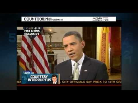 FOX Insults Obama- President gets Interrupted by Baier Video