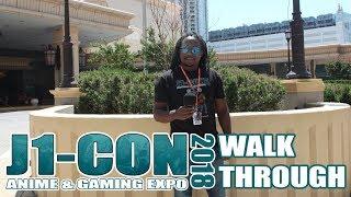 J1-CON 2018 (Anime & Gaming Expo) Walkthrough Video