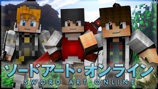 "Minecraft Sword Art Online Roleplay Marathon Episode 1-10 ""COMPLETE"" [Minecraft Anime Roleplay]"