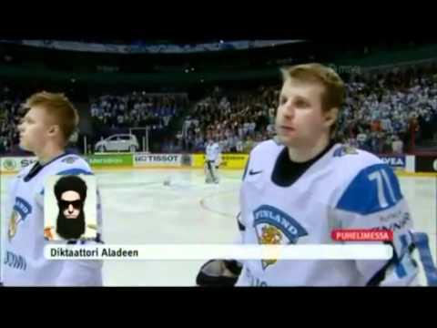 Dictator Aladeen calls to Finland
