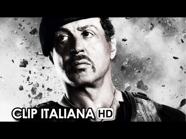 I Mercenari 3 - The Expendables Clip Italiana Ufficiale Luna (2014) - Sylvester Stallone HD