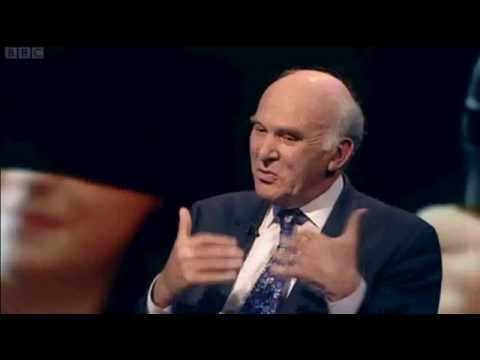 Jeremy Paxman vs Vince Cable over U-turn on Tuition Fees