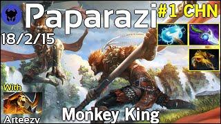 Paparazi plays Monkey King!!! Dota 2 7.21