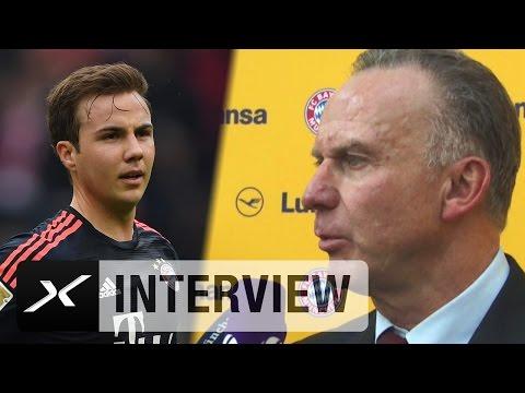 Karl-Heinz Rummenigge über die Zukunft von Mario Götze   Benfica - FC Bayern München