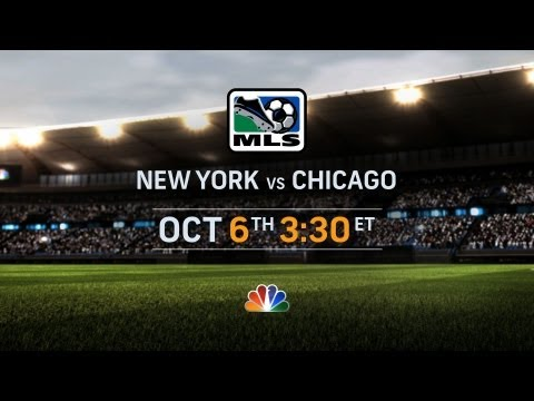 This is soccer: NY vs. CHI October 6th