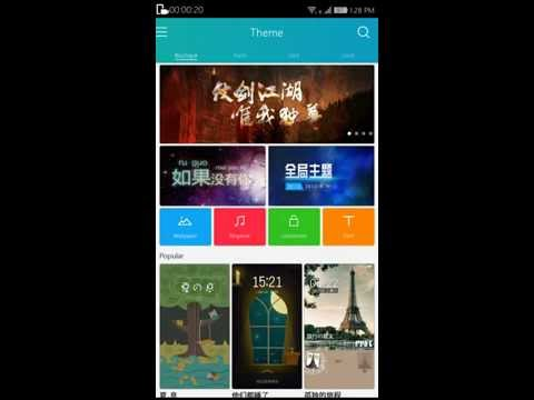 CoolPad Note 3 CoolShow App [Now download every theme, wallpaper, ringtone from coolshow]