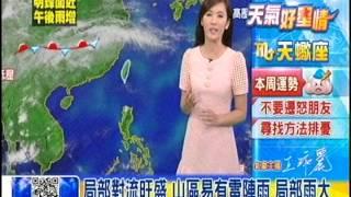 [東森新聞HD]氣象時間-1040427晚間氣象
