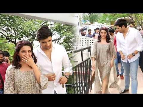 Samantha Akkineni Rocking Entry @ Goodachari 4K Teaser Launch | Adivi Sesh | Film Jalsa