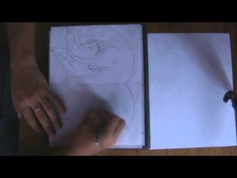 Dibujando a Shana de Shakugan no Shana
