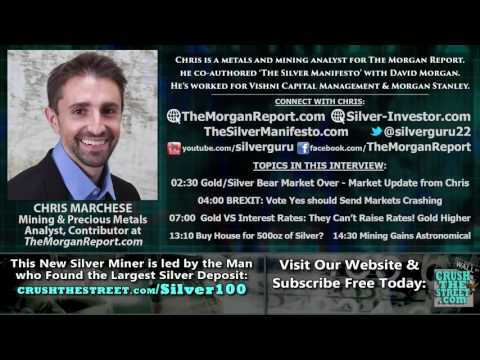 Silver to the Moon After FED Fails to Raise Rates   Chris Marchese Interview