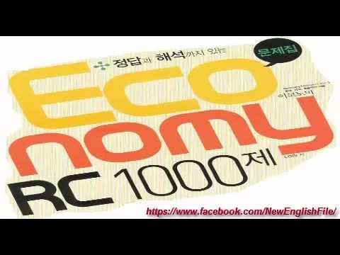 ECONOMY TOEIC RC 1000 TEST 1  PART 5 ( 101 - 140)
