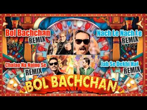 bol Bachchan Remix Songs | Jukebox | Abhishek Bachchan, Ajay Devgan video