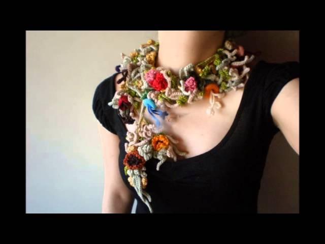 Вязаные украшения для одежды своими руками - Simvol-goroda.ru