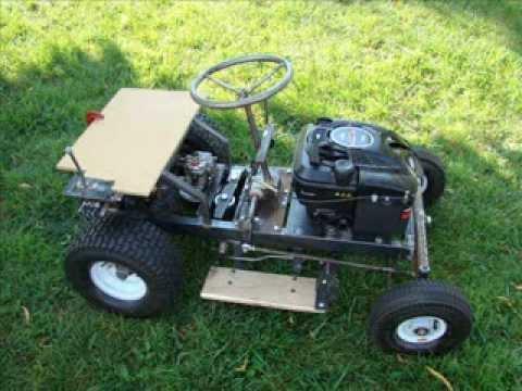 Tractor para pasto