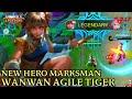 New Hero Wanwan Gameplay - Mobile Legends Bang Bang thumbnail