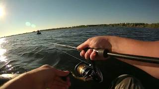 рыбалка окунь на пиявку