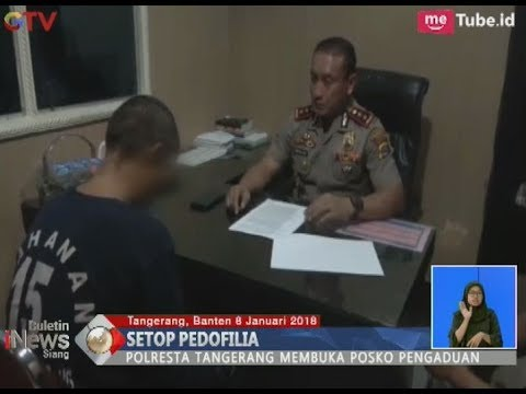 Banyaknya Kasus Sodomi Anak Dibawah Umur Polresta Tangerang Membuka Posko Pengaduan - BIS 08/01