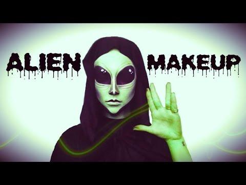 Alien | Halloween Tutorial ♡