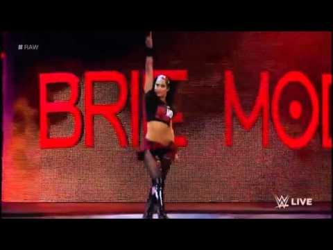 WWE Brie Bella entrance in WWE 2015