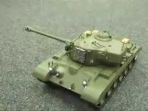 RC Radiografisch bestuurbare snow leopard tank