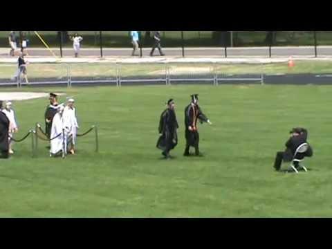 Joey Marella Graduation Maine West High School entrance