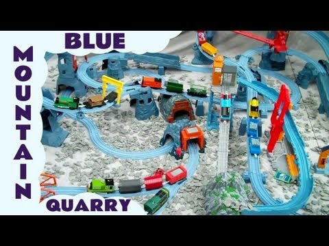 Thomas And Friends Blue Mountain Mystery Busy Day Kids Toy Train Set Thomas The Tank Engine