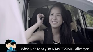 What Not To Say To A MALAYSIAN Policeman - JinnyBoyTV