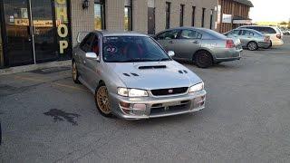 1999 JDM RHD Subaru WRX STI Version 5 in Toronto Canada, RSMC, 4WD, Imported