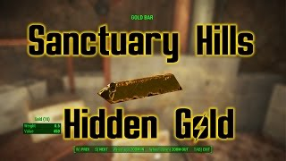 SANCTUARY HILLS HIDDEN GOLD | Fallout 4 Secret