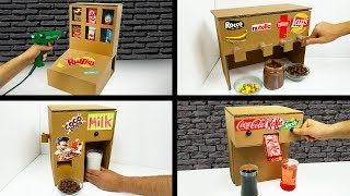 Top 5 Amazing ideas from Cardboard at Home