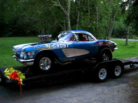 1961 Corvette Drag Racer Listen To Her Purrrrr Youtube