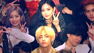 Taehyung & Tzuyu TaeTzu Moments compilation-6(2018~2019) BTS x TWICE